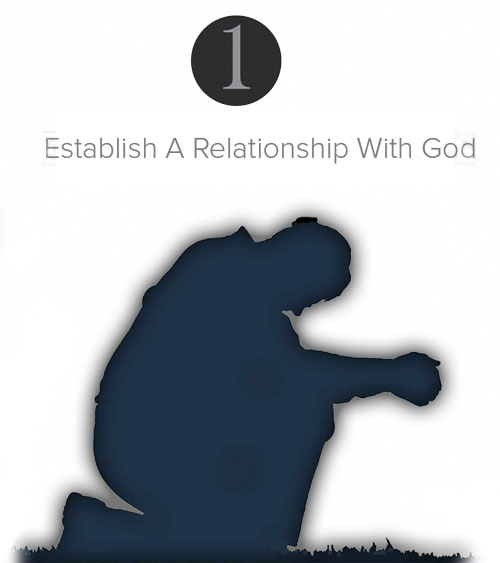 Step 1 - Establish A Relationship With God