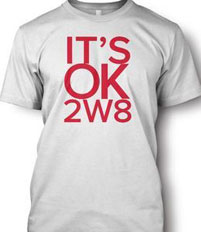 IT'SOK2W8 T shirt